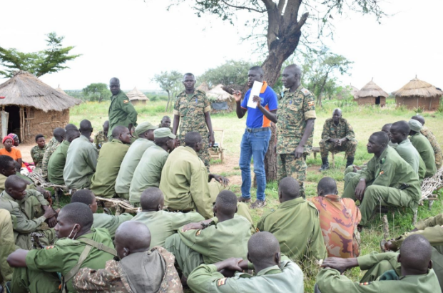 Uganda Human Rights Commission's Moroto Regional Office trains Local Defence Unit personnel in four districts of Karamoja Sub- Region