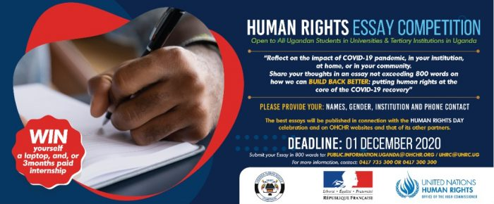 2020 Human Rights Day Essay Competition