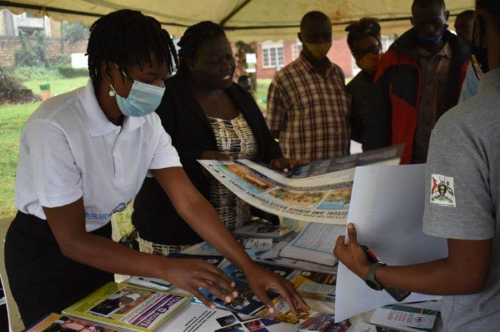 UHRC takes Part in Nakawa Court's Open Day for Refugees