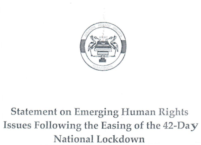 Statement on Emerging Human Rights Issues Following the Easing of the 42-Day National Lockdown
